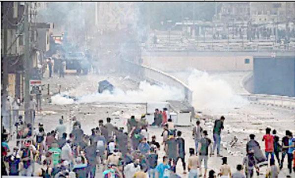 عراق :مظاہرے جاری ، ہلاکتوں کی تعداد 100 سے متجاوز