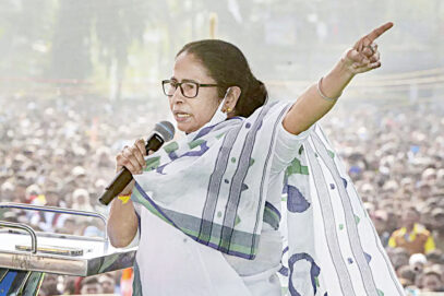 بنگال پر بنگالی ہی راج کرے گا:ممتابنرجی