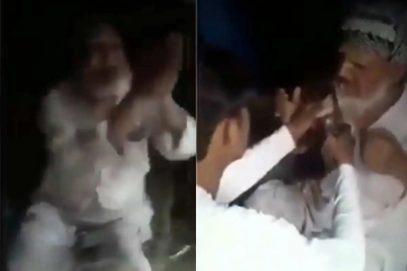 مسجد جاتے وقت ایک معمر افراد کے ساتھ مارپیٹ'جئے شری رام' کا نعرہ لگانے پر مجبور کیاگیا